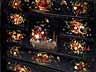 Detail images: Sehr seltenes Lackkabinett mit feinen Perlmuttintarsien