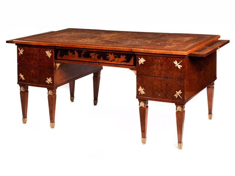 Eleganter Schreibtisch im Empire-Stil