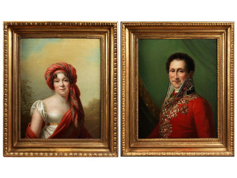 Portraitist der ersten Hälfte des 19. Jahrhunderts