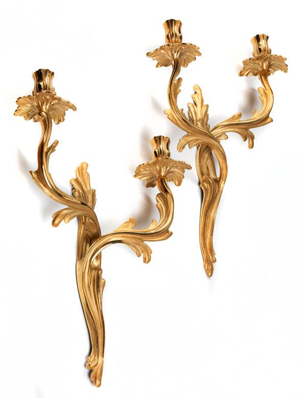 Paar Wandappliken im Louis XVI-Stil