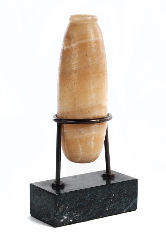 Griechisch/ römisches Alabastron (Salbgefäß)