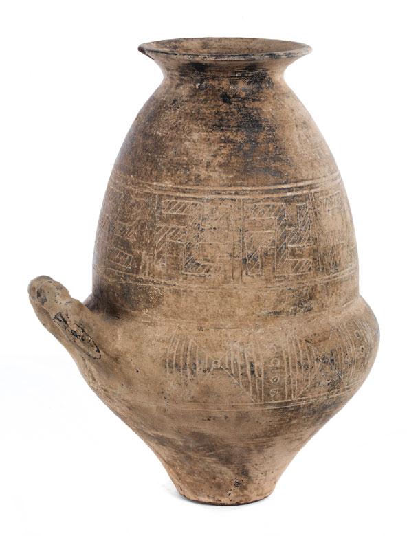 Etruskische Urnenvase