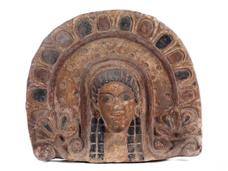Etruskisches Rundbogenrelief