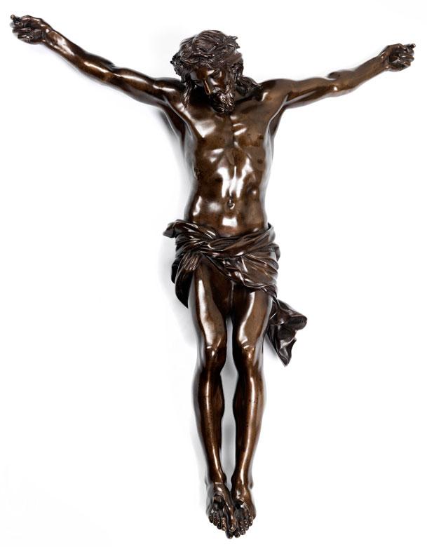 Großer Corpus Christi in Bronze, Ferdinando Tacca, 1619 - 1686 Florenz, zug.