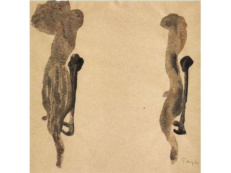 Marc Tobey, 1890 Centerville – 1976 Basel