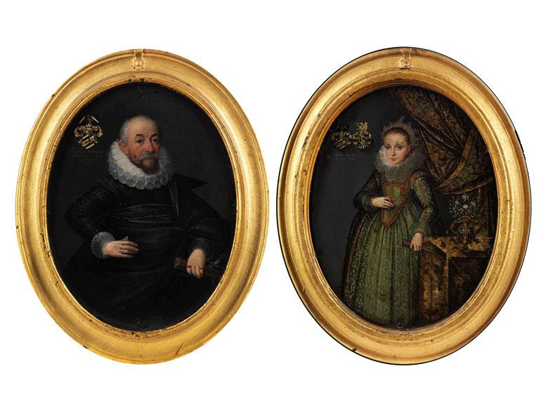 Portraitist des beginnenden 17. Jahrhunderts, 1612