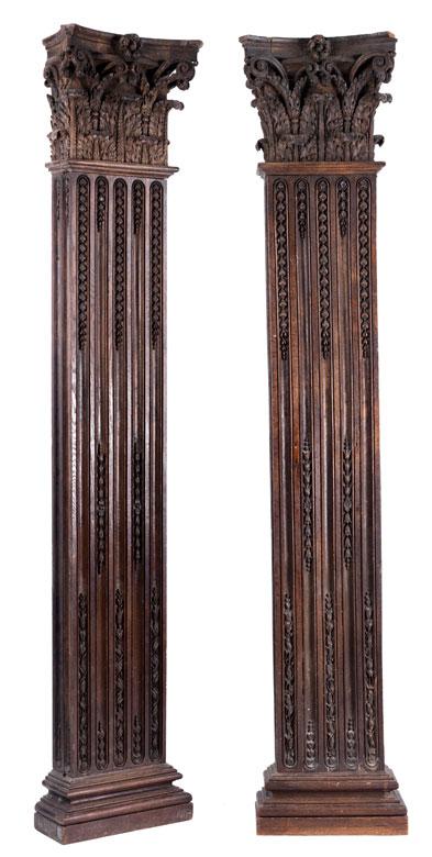 Paar Louis XVI-Pilaster