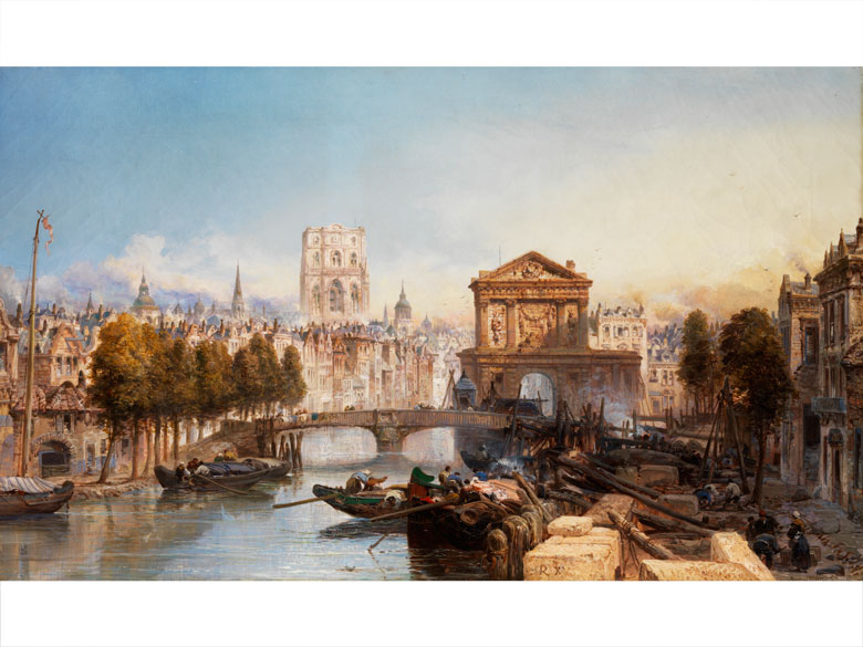 James Webb, 1825 – 1895 London