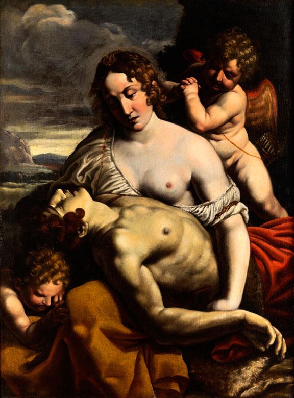 Alessandro Turchi, genannt L'Orbetto , 1578 Verona - 1649 Rom