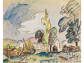 Paul Signac, 1863 Paris - 1935 ebenda