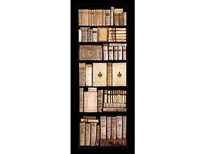 Weiße Bibliothek mit Werken des 16. - 18. Jahrhunderts