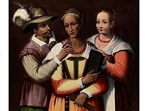 † Italienischer Maler des 16./ 17. Jahrhunderts, in Art von Bartolomeo Passerotti