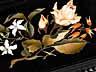 Detail images: † Ebonisierte Holzschatulle mit eingelegten, floral dekorierten Pietra dura-Platten