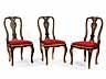 Detail images: Satz von sechs Rokoko-Stühlen