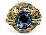 Detail images: Museale, große Majolika-Vase