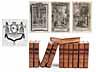 Detail images: † Eine Bibliothek mit 995 Büchern des 18. Jahrhunderts
