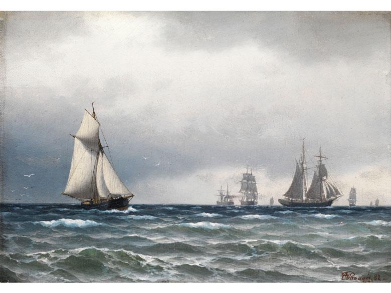 Carl Emil Baagöe, 1829 – 1902