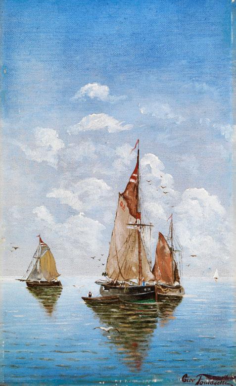 Giovanni Tomaselli, italienischer Maler des beginnenden 20. Jahrhunderts
