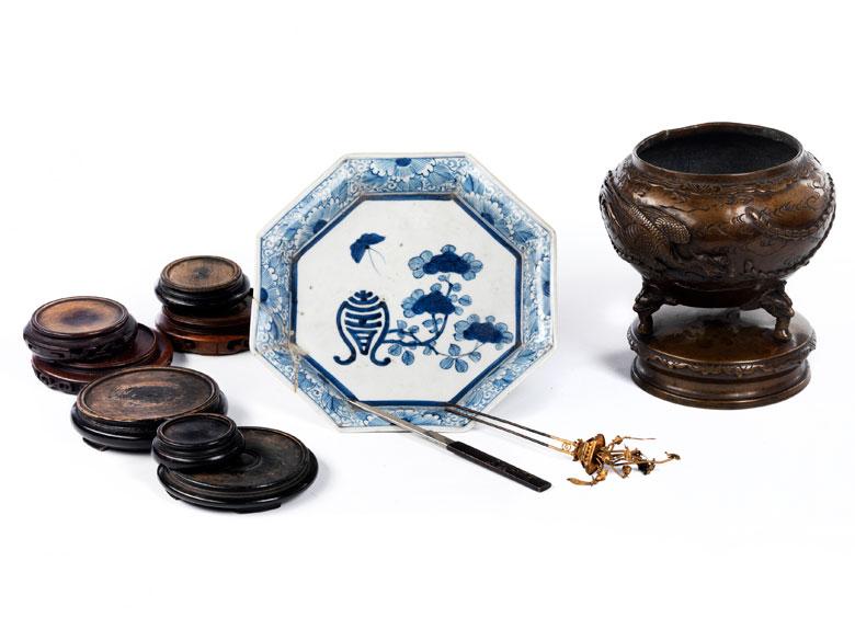 Konvolut japanischer Objekte