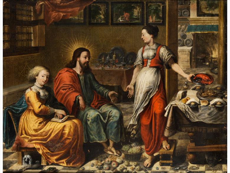 Maler der Flämischen Schule des 17. Jahrhunderts unter Mitwirkung des Jan van Kessel, 1626 – 1679