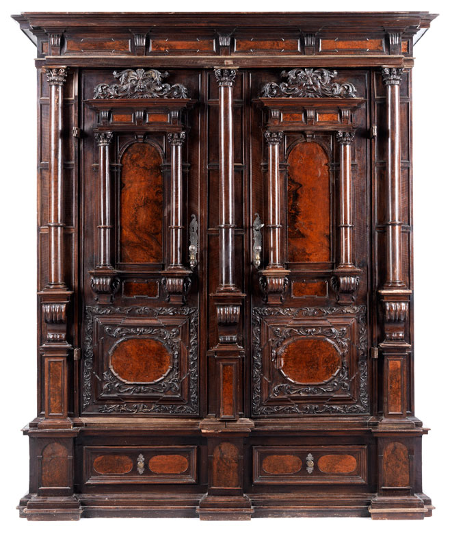 gro er renaissance schrank hampel fine art auctions. Black Bedroom Furniture Sets. Home Design Ideas