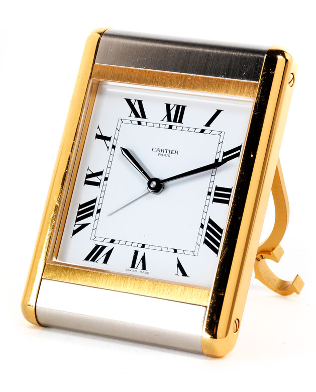 Cartier-Wecker mit Quarzwerk