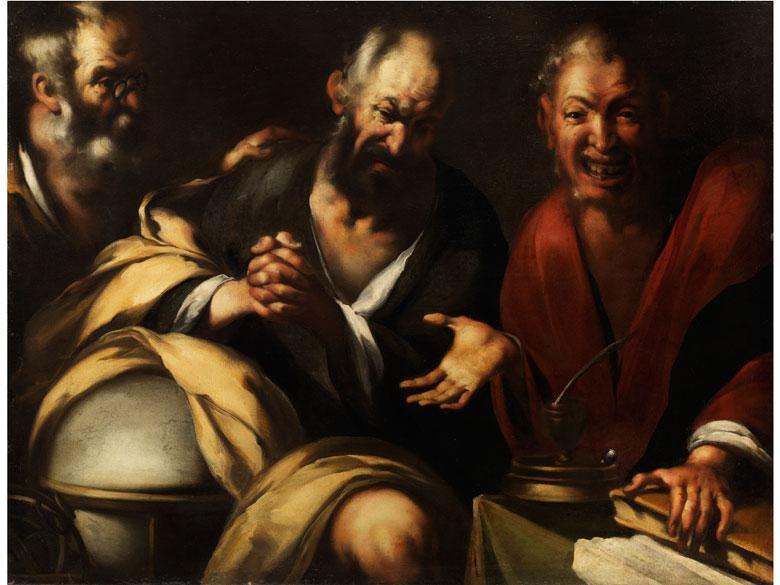 Maler der Genueser Schule des 17. Jahrhunderts in der Art von Bernardo Strozzi
