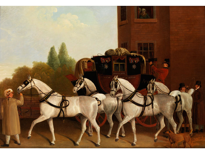 James Jacques Laurent Agasse, 1767 – 1849, zug.