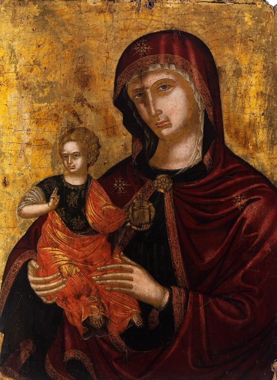 Italienischer Meister des ausgehenden 14. Jahrhunderts wohl aus der Sieneser Schule