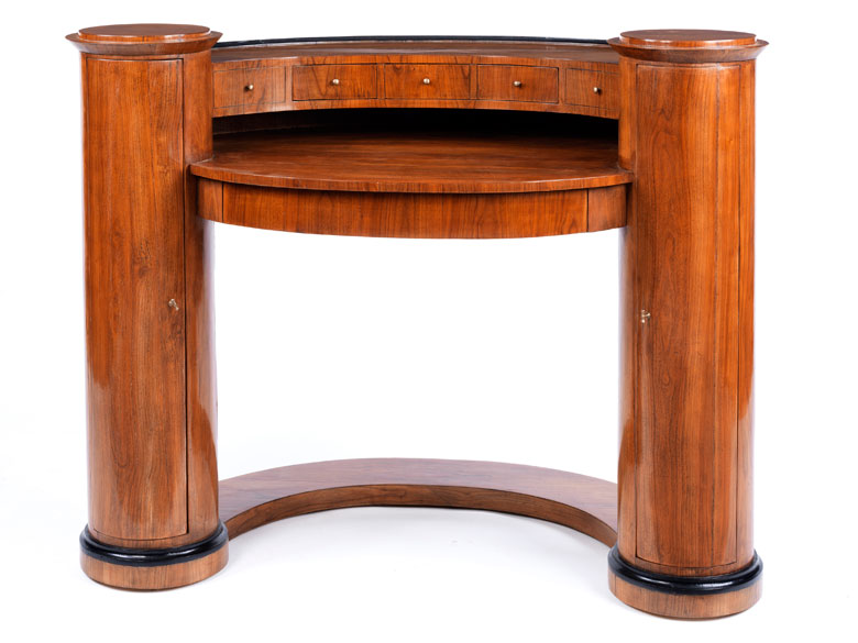 biedermeier schreibtisch im stil von danhauser hampel fine art auctions. Black Bedroom Furniture Sets. Home Design Ideas