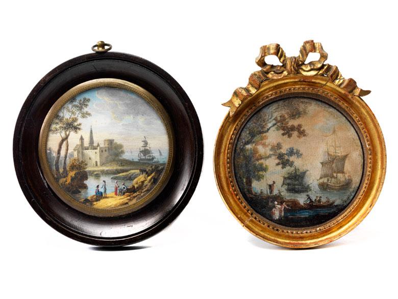 Zwei Miniaturen