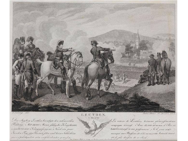 Leuthen 5. Dez. 1757