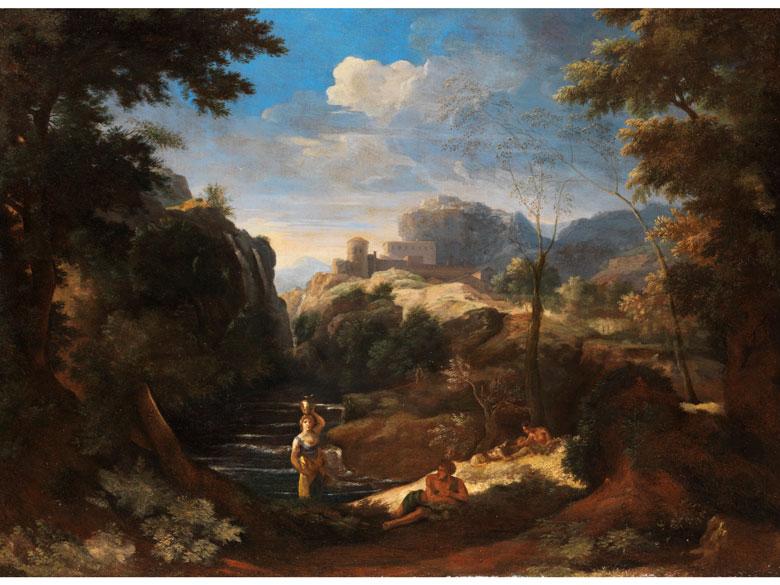 Gaspard Dughet, 1615 – 1675, zug.