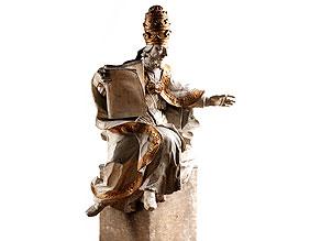 Skulptur des Heiligen Gregor