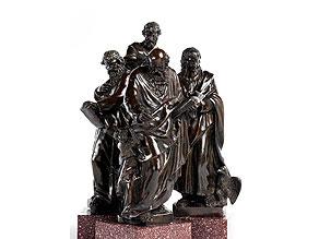 Jacob Cornelisz Cobaert, flämischer Bildhauer, der um 1568 in Rom tätig war, zug.