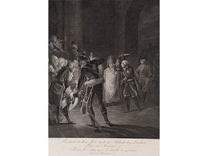 Friedrich II in Lissa nach der Schlacht bey Leuthen