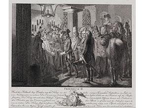Friedrich II in Lissa