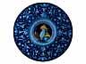 Detail images: Bedeutender Majolika-Teller der Manufaktur Faenza
