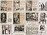 Detail images: † Eine große Bibliothek mit 1054 Büchern des 18. Jahrhunderts aus der Zeit von König Louis XIV, Louis XV und Louis XVI