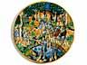 Detailabbildung: Bedeutende Majolika-Platte aus Urbino, 16. Jahrhundert, um 1550 – 60