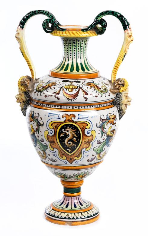 Majolika-Vase