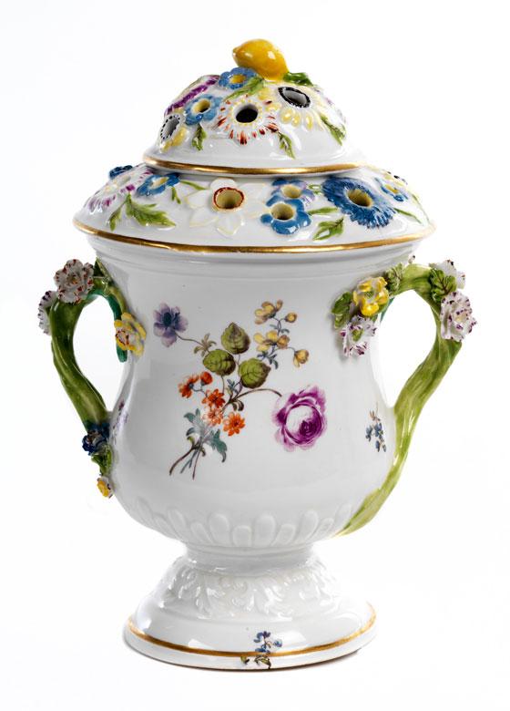 Meissener Potpourri-Vase