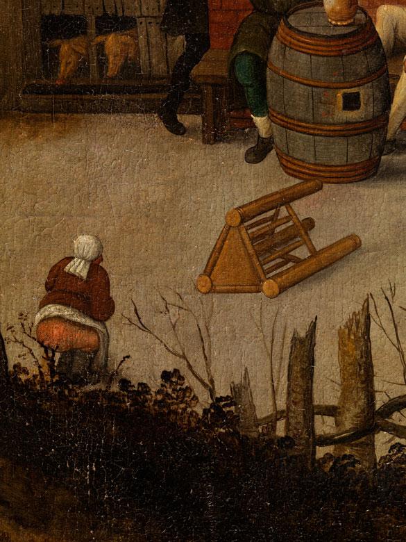 Detailabbildung: Pieter Brueghel d. J., 1564 Brüssel - 1638 Antwerpen