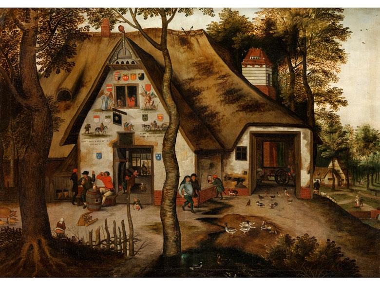 Pieter Brueghel d. J., 1564 Brüssel - 1638 Antwerpen