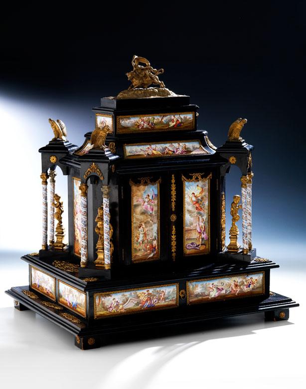† Imposantes Schmuckkabinett, Hermann Ratzersdorfer, zug.
