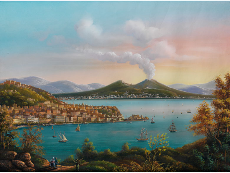 Enrico La Pira, Neapolitanischer Maler um 1845