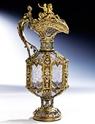 Elfenbein, Bergkristall & Email auf Silber Auction April 2013