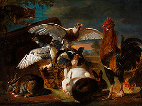 David de Coninck, 1636 Antwerpen - 1700 Brüssel, zug.
