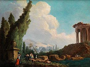 Hubert Robert, 1733 Paris - 1808