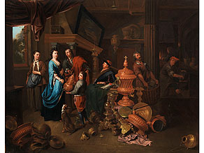 Gérard Thomas, 1663 Antwerpen - 1720 Antwerpen